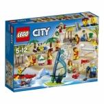 LEGO City Inimeste komplekt-lõbus melu rannas 169 elementi