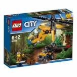 LEGO City Džungli kaubahelikopter 201 elementi