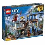 LEGO City Mägipolitsei peakorter 663 elementi