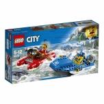 LEGO City Tormisel jõel põgenemine 126 elementi