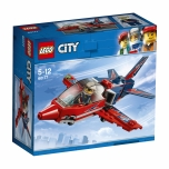LEGO City Õhuetenduse reaktiivlennuk 87 elementi