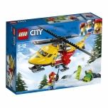 LEGO City Kiirabihelikopter 190 elementi
