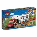 LEGO City Pikap ja haagissuvila 344 elementi