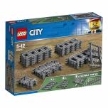 LEGO City Rööpad ja Kurvid 20 elementi