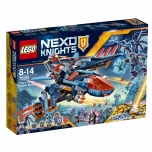 LEGO Nexo Knights Clay hävituslennuk 523 elementi UUS!