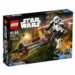 LEGO Star Wars Scout Trooper ja Speeder Bike 452 elementi