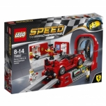LEGO Speed Champions Ferrari FXX K ja arenduskeskus 493 elementi