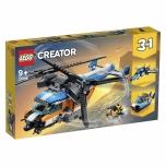 LEGO Creator Kahe tiivikuga helikopter 569 elementi