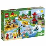 LEGO DUPLO Maailmaloomad 121 elementi