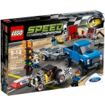 LEGO Speed Champions Ford F150 ja Ford Hot Rod 664 elementi