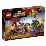 LEGO Super Heroes Hulk vs Red Hulk
