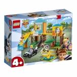 LEGO Juniors Buzz & Bo Peep´s mängumaa seiklused 139 elementi