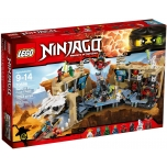 LEGO Ninjago Samurai X ja kaosekoobas 1253 elementi