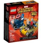 LEGO Super Heroes Kapten Ameerika vs Punane Kolp 95 elementi