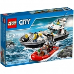 LEGO City Politsei patrullpaat 200 elementi