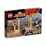 LEGO Super Heroes Superkurikaelte ninasarviku ja liivamehe tiim 386 elementi