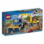 LEGO City Tänavapuhastaja ja ekskavaator 299 elementi