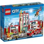 LEGO City Tuletõrjedepoo 919 elementi