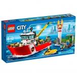 LEGO City Tuletõrjepaat 412 elementi