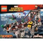 LEGO Super Heroes Spider-Man: võrgusõdalaste viimane lahing sillal 1092 elementi