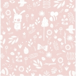 Little Dutch tapeet Adventure Pink