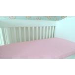Makayla Design roosa aluslina kummiga 60x120cm