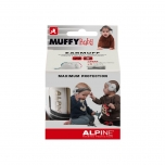 Alpine Muffy Baby kõrvaklapid beebidele, must-valge