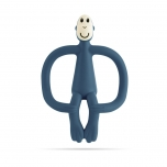 Matchstick Monkey Airforce Blue Monkey Teething Toy närimislelu