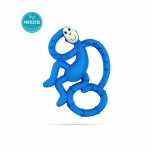 Matchstick Monkey Blue Mini Monkey Teether närimislelu
