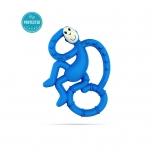 Matchstick Monkey Blue Mini Monkey Teether närimislelu
