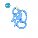 Matchstick Monkey Light Blue Mini Monkey Teether närimislelu