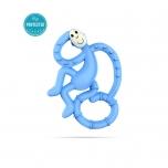 Matchstick Monkey Light Blue Mini Monkey Teether närimislelu