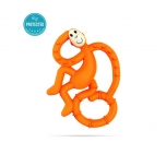 Matchstick Monkey Orange Mini Monkey Teether närimislelu