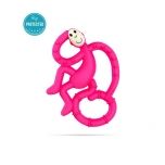 Matchstick Monkey Pink Mini Monkey Teether närimislelu