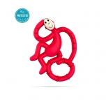 Matchstick Monkey Rubine Mini Monkey Teether närimislelu
