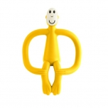 Matchstick Monkey Yellow Monkey Teething Toy närimislelu