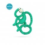 Matchstick Monkey Green Mini Monkey Teether närimislelu