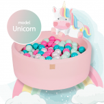 Meow baby pehme pallimeri Unicorn set, 250 palliga