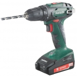 Metabo Akutrell BS 18, 10 mm padruniga 1,3 Ah