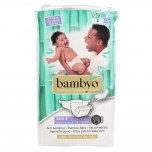 Bambyo bambusest 70% ulatuses biolagunevad öko teipmähkmed 2 (3-6kg) 42tk
