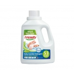 Friendly Organic lõhnatu pesugeel beebiriiete pesuks 1567ml