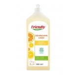 Friendly Organic orgaaniline apelsiniõli nõudepesuvahend 1l