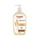 Friendly Organic riisiekstraktiga vedelseep 500ml