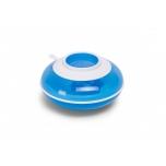 Childhome sooja hoidev taldrik ja kahvel, lusikas-sinine ja valge