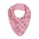 Joha meriinovillane kaelussall snowflake, roosa