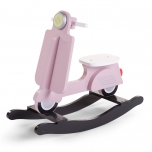 Childhome Puidust Kiik-Roller roosa-must