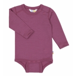 Joha baby heavy single wool bodi, damson