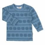 Joha pluus meriinovill snowflake, sinine