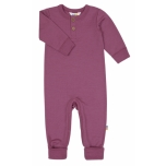Joha kombinesoon baby heavy single wool, damson