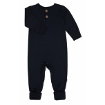 Joha kombinesoon baby heavy single wool, tumesinine